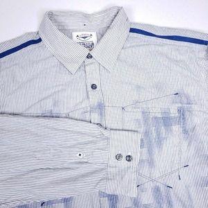 Marithe Francois Girbaud Button Up Shirt 2XL